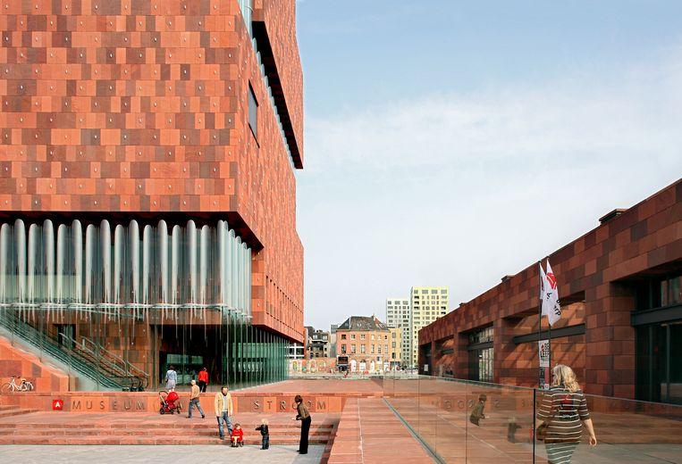 Museum aan de Stroom (MAS), Antwerpen. Beeld Filip Dujardin