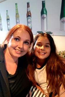 Sienna (10) ziet prinses Amalia en zusjes uit dak gaan bij Beyoncé