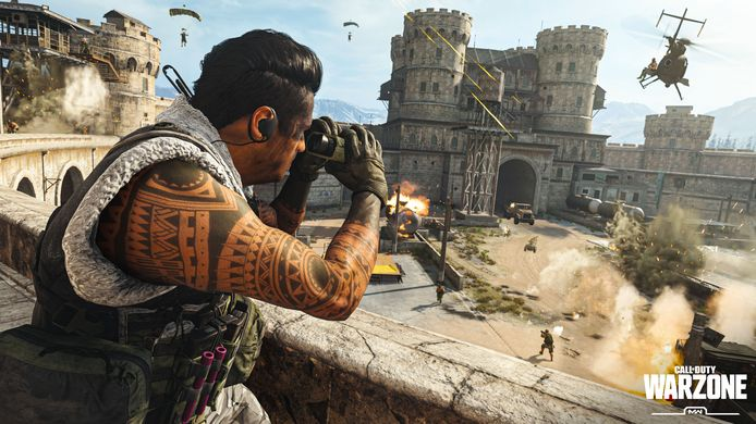 Beeld uit 'Call of Duty: Warzone'.