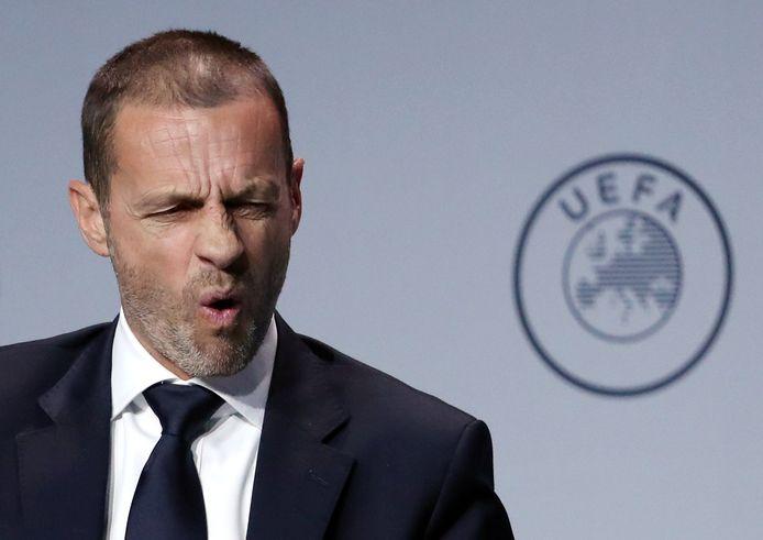 UEFA-baas Aleksander Ceferin.