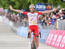 Fransman Lafay sterkste vluchter in lastige achtste etappe, Valter behoudt roze trui