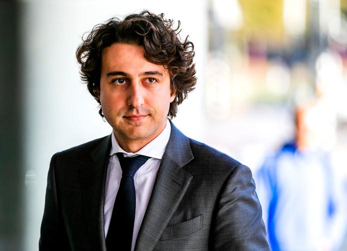 GroenLinks-fractieleider Jesse Klaver.