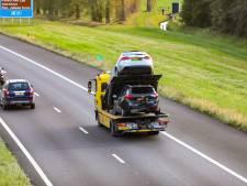 Ongeval zorgt voor file bij Apeldoorn-Noord