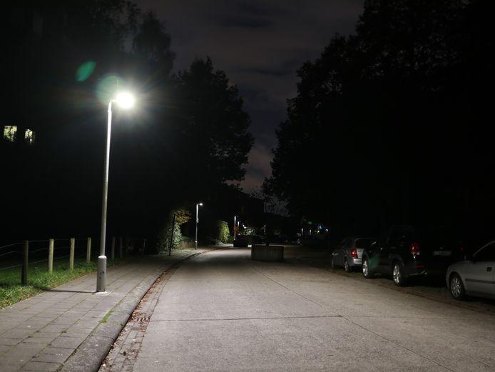 Ledverlichting 's nachts.