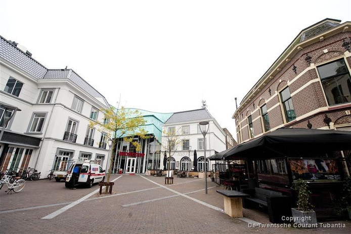 Het Amaliaplein in Almelo