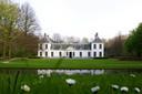 Exterieur van de ambtswoning van de minister-president, het Catshuis in Den Haag.