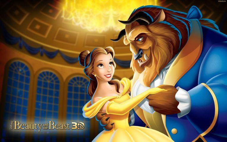 'Belle en het Beest'. Beeld kos
