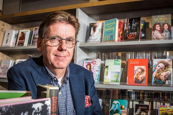 """Directeur-bestuurder René Siteur van de bibliotheek Hengelo, Hof van Twente en Oldenzaal gaat dit voorjaar met pensioen. """"We staan er prima voor."""""""
