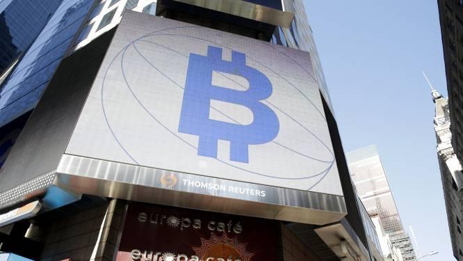 Bitcoin fors omlaag na recordcijfers van vorige week