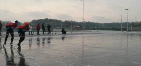In Winterswijk kan er, mede dankzij Universiteit Twente, na één vorstnacht al geschaatst worden