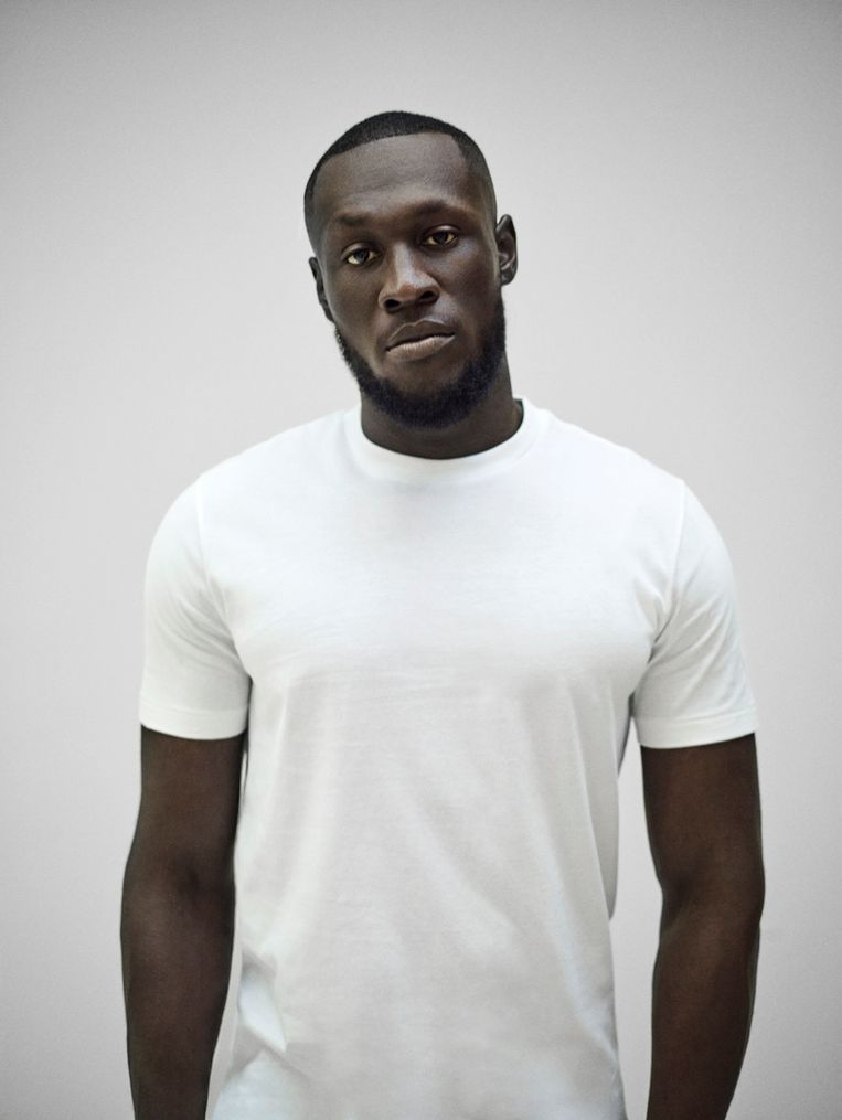 De Engelse grime-rapper Stormzy. Beeld Mark Mattock
