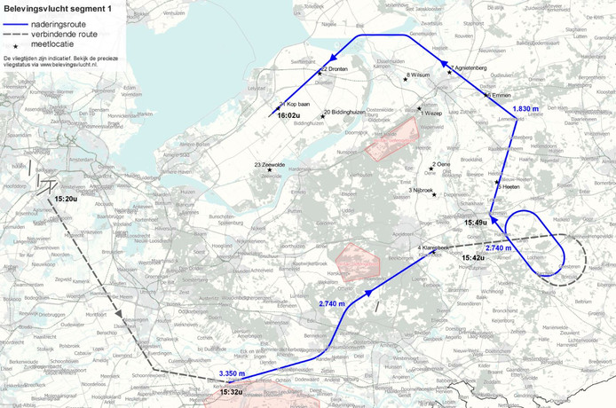 Route deel één