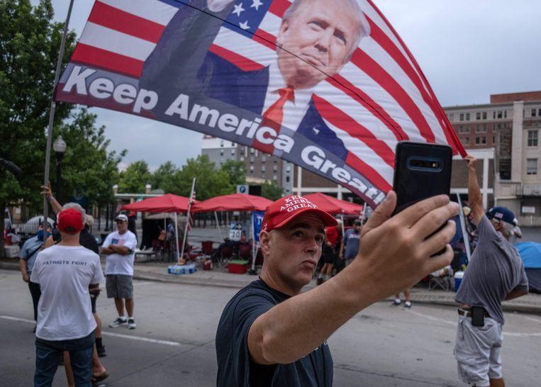 Tulsa, Oklahoma. Beeld AFP