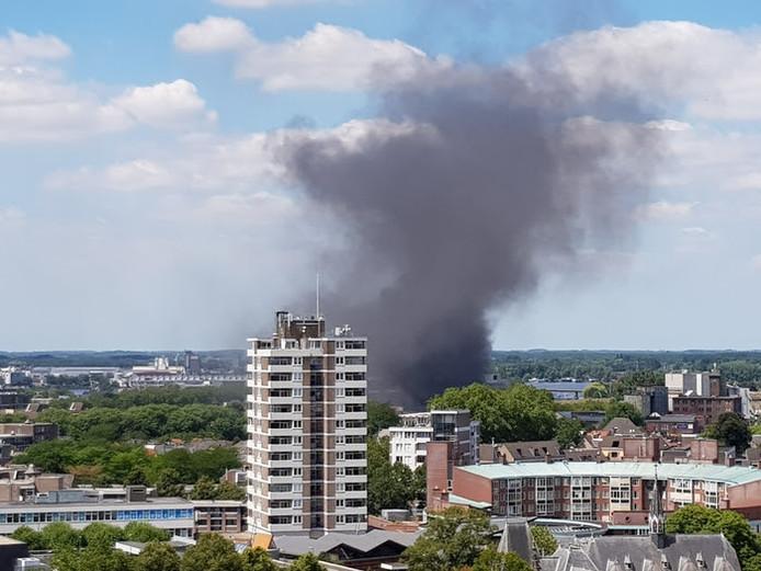 Grote brand in Den Bosch.
