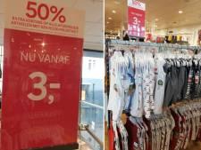 """Cette célèbre enseigne de vêtements offre des réductions sur des articles déjà soldés: """"20 pièces pour 18 euros"""""""