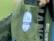 Dries Mertens mis à l'honneur par ses coéquipiers lors de la victoire de Naples face à l'Hellas Vérone