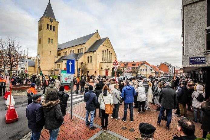 Zaterdag werd Philip Cracco begraven in Knokke.