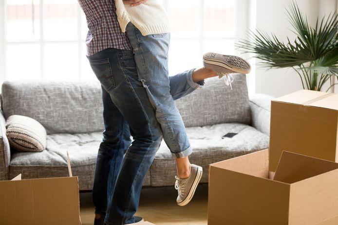 Marie espère qu'elle et son copain pourront bientôt emménager.