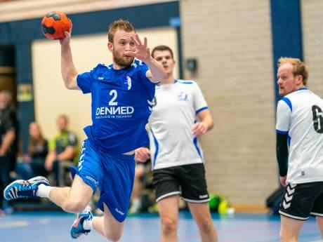 Handballers HV Huissen in slotminuten voorbij The Flyers