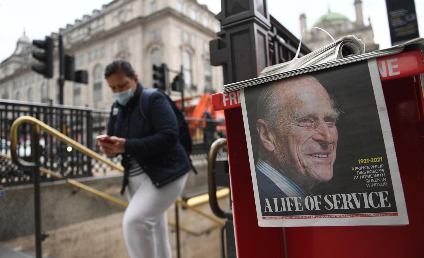 La presse britannique rend hommage au prince Philip.