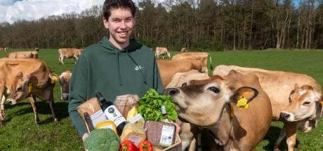 Spankerenaar Youri Nieuwenburg begint online supermarkt met lokale producten