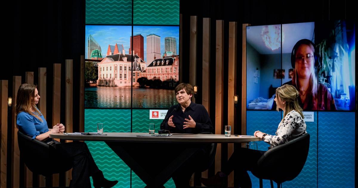 Vijf opvallende momenten met Ploumen (PvdA): 'Johan Derksen is niet heel erg complimenteus' - Tubantia