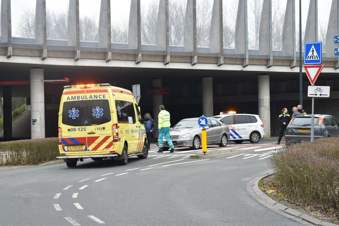 Ongeluk in Zaltbommel.
