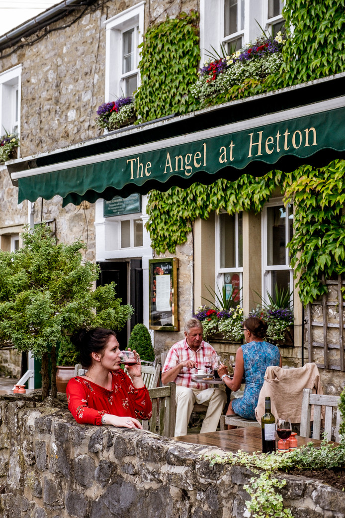 The Angel in Hetton, een echte gastropub.