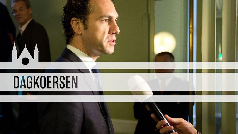 Martijn van Dam wordt vandaag beëdigd als staatssecretaris van Economische Zaken. Beeld ANP/de Volkskrant