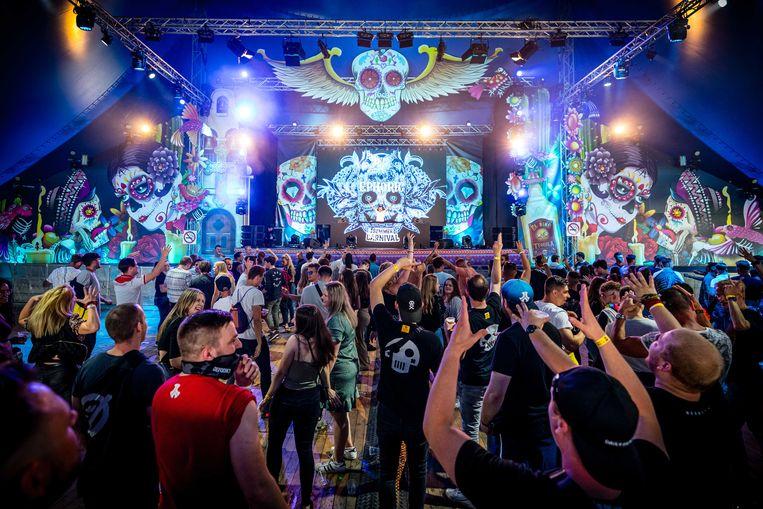 Het Stereo Sunday Festival in Venlo, vorige week. Beeld ANP