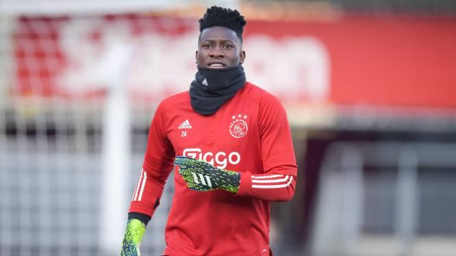 Ajax-doelman Onana voor jaar geschorst door UEFA na dopingovertreding