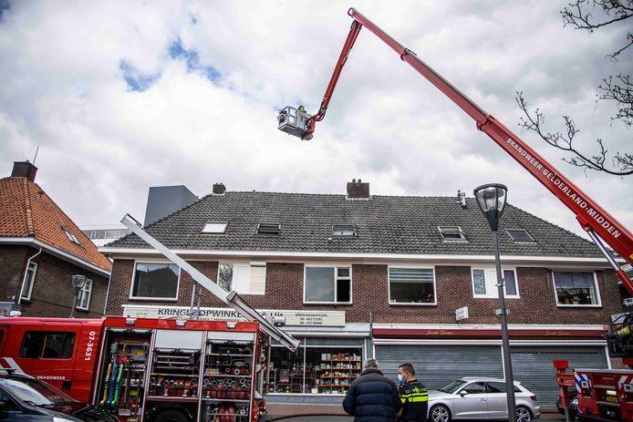 Brandweer in Velp.