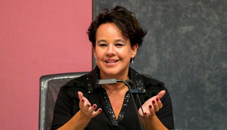 Wethouder verkeer & vervoer, luchtkwaliteit en water, Sharon Dijksma. Beeld ANP