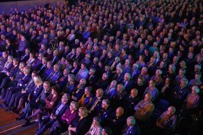 De evenementenhal van De Meenthe zat stampvol voor het concert.