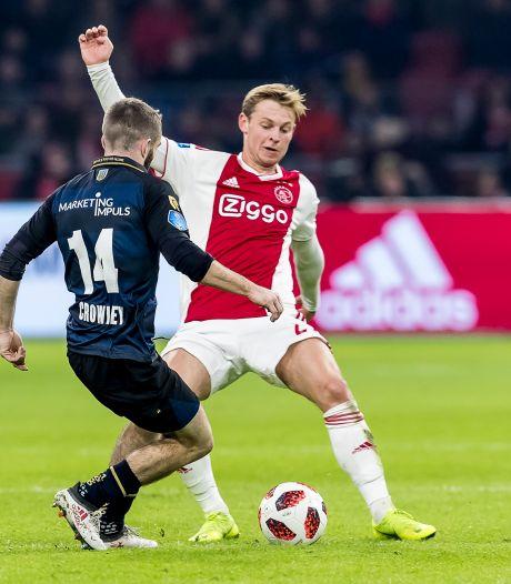 Daniel Crowley zorgt elk duel van Willem II voor een kans