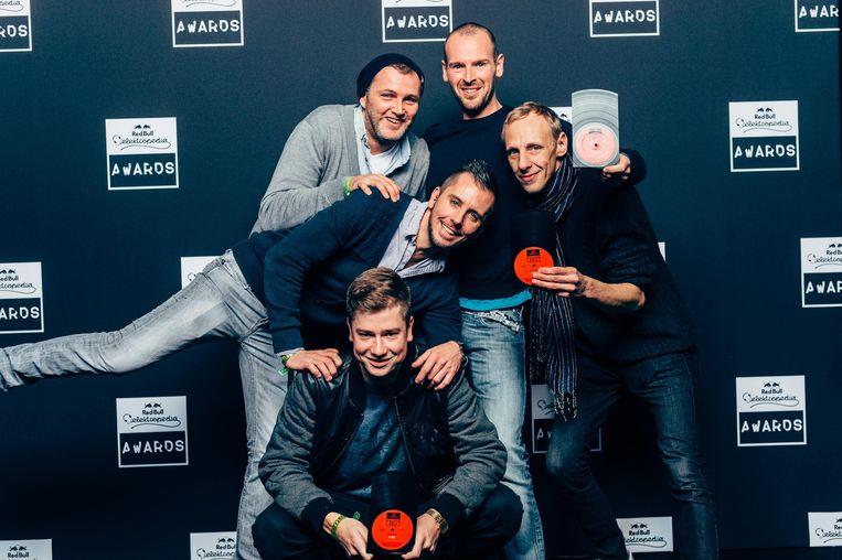 Het Fuse-team. Beeld Red Bull Elektropedia Awards