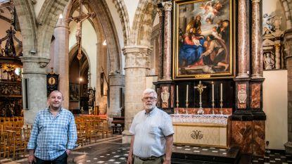 Uniek schilderij Van Dyck schittert na restauratie weer in O.L.Vrouwekerk