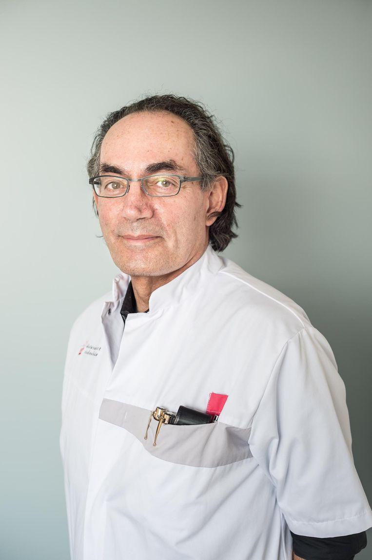 Slaapdeskundige Hans Hamburger Beeld Mats van Soolingen