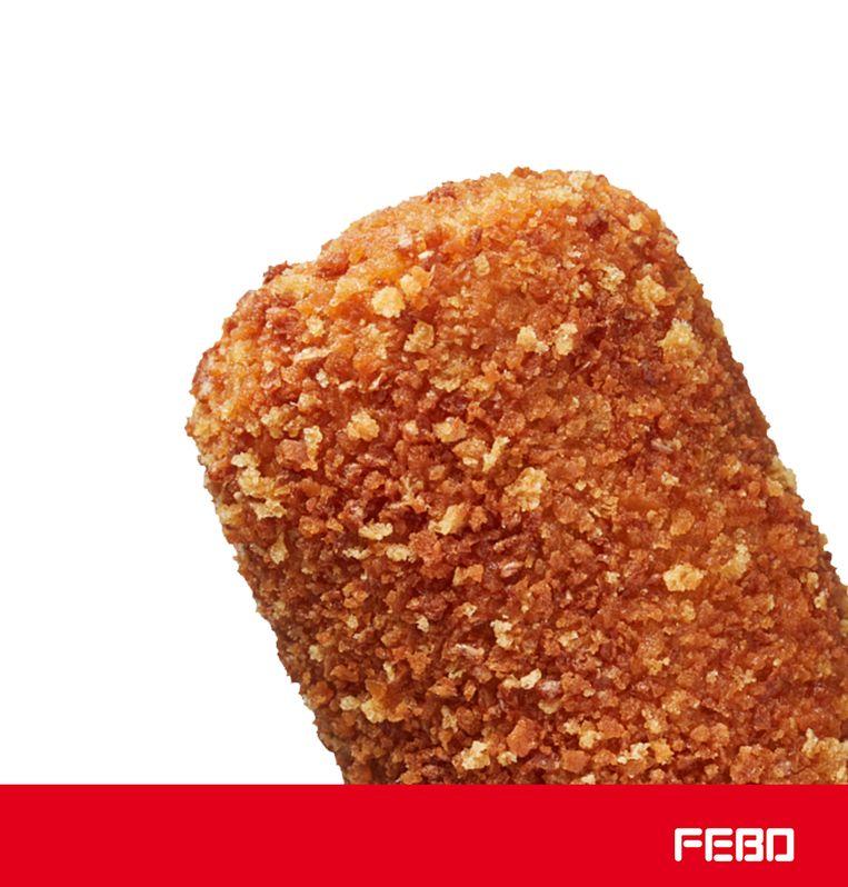 Febo's kipkroket. Beeld