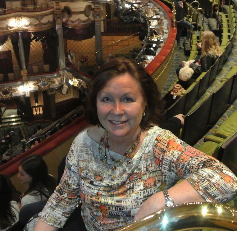 Millie Taylor hoofleraar Musical UvA.  Beeld Martin Nangle