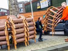 Tilburgse horeca zet terrasjes buiten voor protestactie: 'We moeten nu onze stem laten horen'