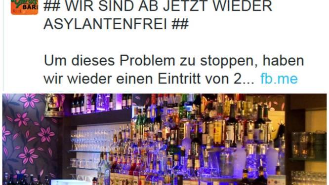 Café voert 2 euro entree in om asielzoekers buiten te houden