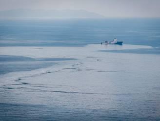 Grote olievlek ten oosten van Cyprus