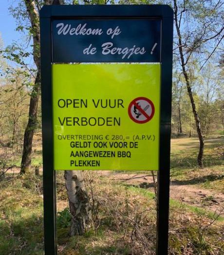 Barbecueën en open vuur verboden na natuurbrand in Soester Duinen