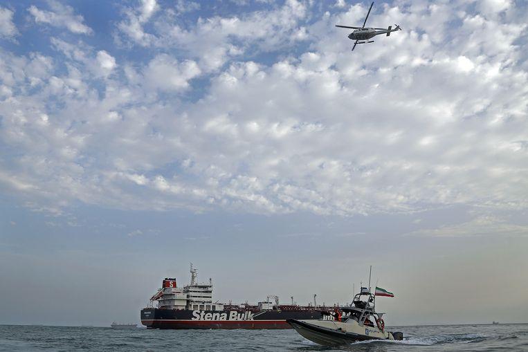 Vorige vrijdag volgde de Iraanse vergelding: de onder Britse vlag varende olietanker Stena Impero werd in de Straat van Hormuz in beslag genomen door Iran.