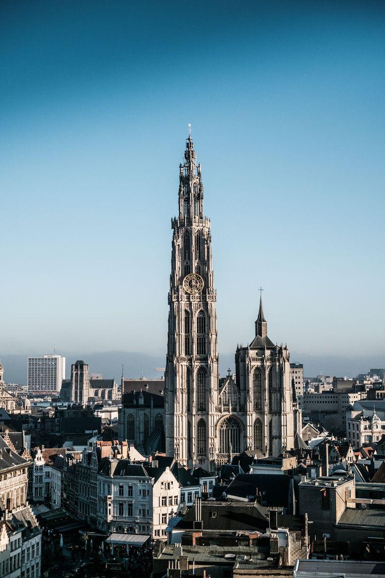 In Antwerpen zullen de lokale verkiezingen in 2018 draaien om tegengestelde visies op de samenleving. Beeld Bob Van Mol