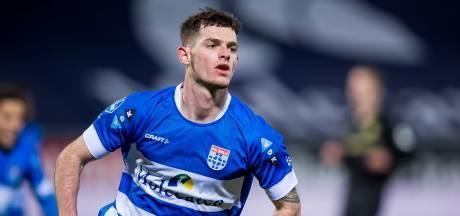 PEC Zwolle 'past in het straatje' van Nijkerker Thomas Buitink: 'Ik vond de overstap best spannend'