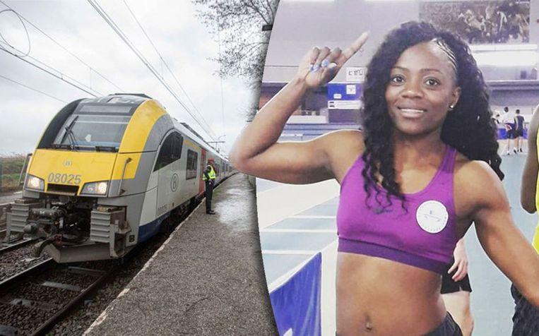 Fanny Appes werd aangevallen door haar ex-partner. De man viel haar aan met een mes op de trein.