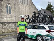 Luuc Bugter uit Arnhem boekt ritzege in Ierse profkoers