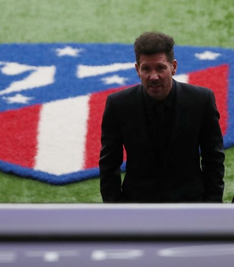 Diego Simeone prolonge à l'Atlético Madrid